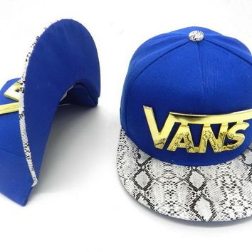 VANS Women Men Embroidery Sports Sun Hat Hip Hop Baseball Cap Hat-2