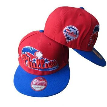 hcxx Philadelphia 76ers New Era NBA 9FIFTY Cap Red-Blue