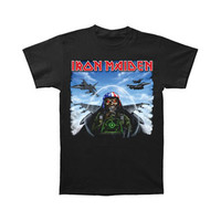 Iron Maiden Men's  Texas Jetfighter T-shirt Black