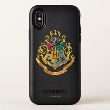 Harry Potter | Hogwarts Crest - Full Color OtterBox Symmetry iPhone X Case