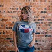 Football In Texas Tee