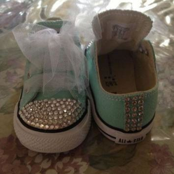DCKL9 Toddler Bling converse-custom orders