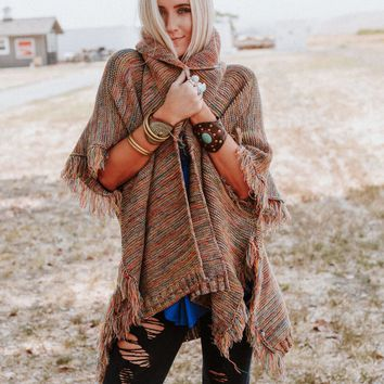 Stargazer Rainbow Knit Wrap