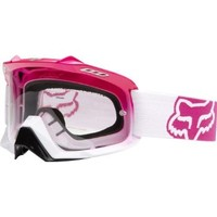 Fox Racing Womens AIRSPC Fade Goggles With Clear Lens 2014