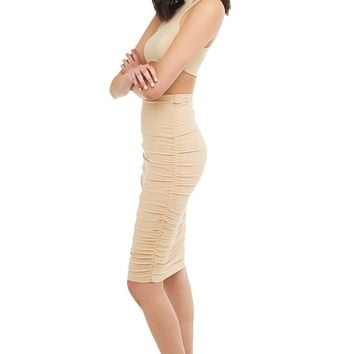RUCHED SKIRT - Just In - What's New