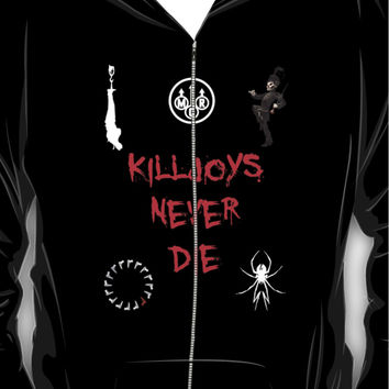 My Chemical Romance - Killjoys Never Die Hoodie (Zipper)