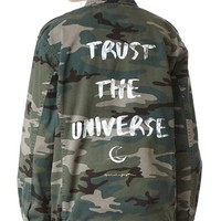 Trust the Universe Army Jacket