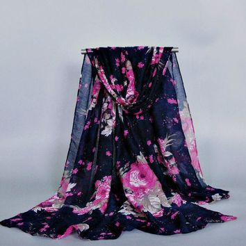 10pcs/lot Ladies Printe Floral Viscose Printe Flower Shawls Head Pashmina Cotton Hijab Muslim Wrap Scarves/scarf 10pcs/lot