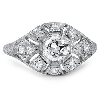 Platinum The Lisbet Ring