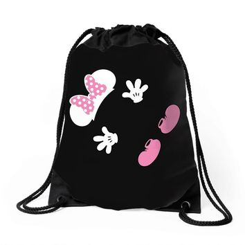 Creating a Little Disney Magic Baby Girl Drawstring Bags