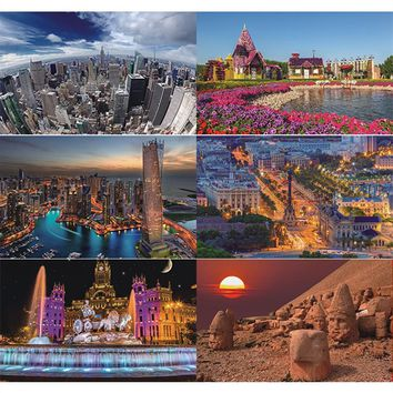 1500PCS creative jigsaw puzzle,adult decompression toys,world famous paintings,children's gifts,games, environmental protection