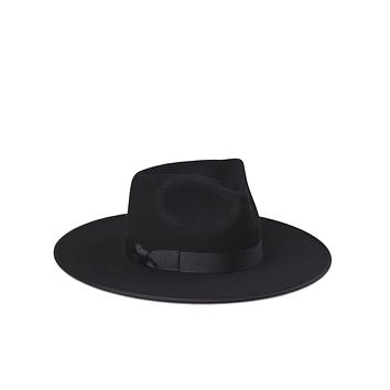 Lack of Color - Black Noir Rancher fedora hat
