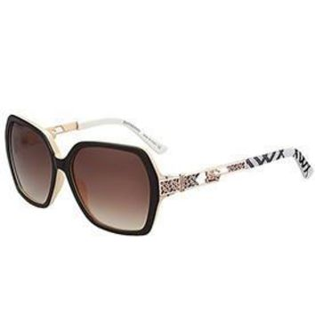 Burberry Butterfly Square Beige Sunglasses 307758