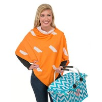 Game Day 3-in-1 Wrap in Tennessee Orange and White by Top It Off