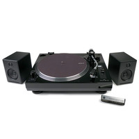 Music Hall: MMF USB-1 Turntable + Audioengine A2+ Speakers Package