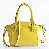 VONE05 Kate Spade Women Shopping Leather Handbag Tote Satchel Bag H-YJBD-2H Tagre-