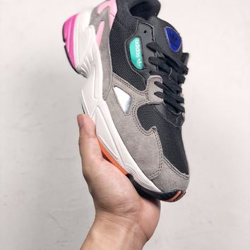 "Adidas Falcon W ""Light Granite""  Running  Sneakers"