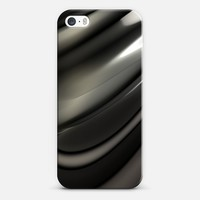Liquid Black for iPhone SE iPhone SE case by Lyle Hatch | Casetify