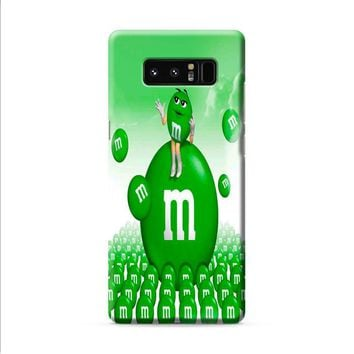 M&M's Green Candy Samsung Galaxy Note 8 case