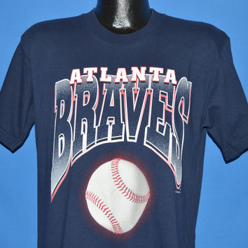 90s Atlanta Braves Play Ball t-shirt Large