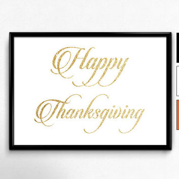 Thanksgiving Decorations, Thanksgiving Print, Thanksgiving Printables, Thanksgiving Wall Art, Thanksgiving Poster, Happy Thanksgiving