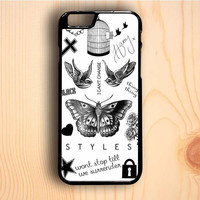 Dream colorful One Direction Harry Styles Tattoos iPhone 6 Plus Case