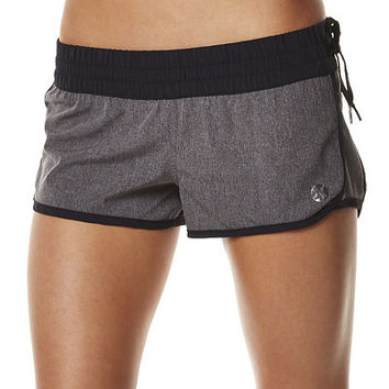 HURLEY PHANTOM 60 BLOCK PARTY HEATHER BOARDSHORT - BLACK