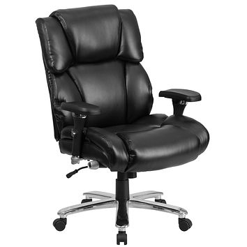 Series 24/7 Intensive Use, Multi-Shift, Big & Tall 400 lb. Capacity Executive Swivel Chair with Lumbar Support Knob