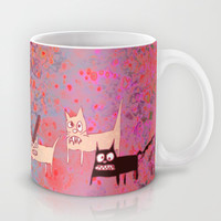 very evil cats Mug by Marianna Tankelevich