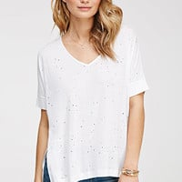 Distressed Dolman Tee