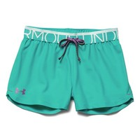 Girl's Under Armour 'Play Up' Shorts,