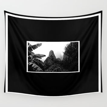 Iao Needle Wall Tapestry by Derek Delacroix