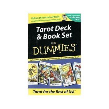 Tarot for Dummies Deck and Book Set by Amber Jayanti