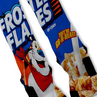 Frosted Flakes Fast Shipping!! Nike Elite Socks Customized Tony The Tiger