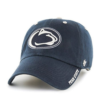 NCAA Penn State Nittany Lions Ice '47 Clean Up Adjustable Hat, Navy, One Size,Navy