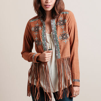 Born To Be Wild Fringe Jacket