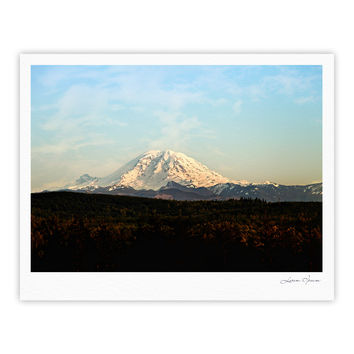 "Sylvia Cook ""Mt. Rainier"" Mountain Photo Fine Art Gallery Print"