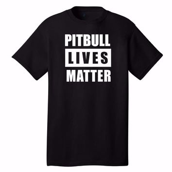 Pitbull Lives Matter T-Shirt - Dog Lovers Tee