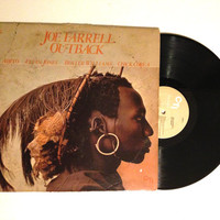 OCTOBER SALE Rare Vinyl Record Joe Farrell Outback LP Album 1979 Jazz Modal Bleeding Orchid