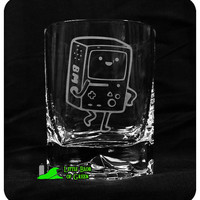 BMO Etched Squared Rocks Tumbler