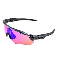 New Oakley Sunglasses Radar EV XS Youth Carbon Fiber Prizm #9001-0431 In box
