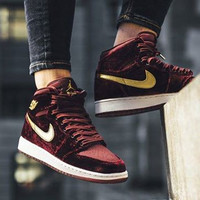 "Jordan 1 ""Night Maroon"""