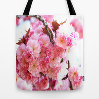 A Dream of the Cherry blossoms Tote Bag by LoRo  Art & Pictures