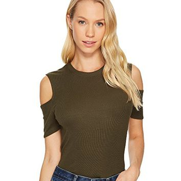 Joe's Jeans Cut Out Sleeve Top