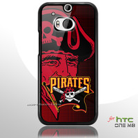Pittsburgh Pirates MLB Logo HTC One M8 Case