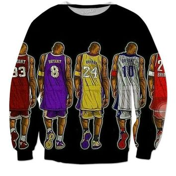 DCCK1IN kobe bryant sweater  number 1
