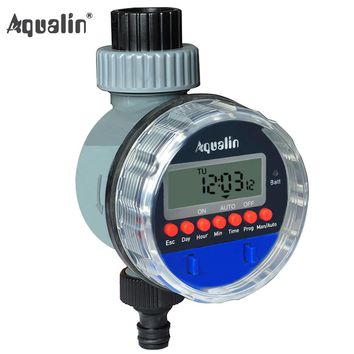 Automatic LCD Electronic Ball Valve Water Timer For Home and Garden