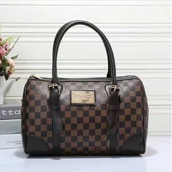 Louis Vuitton LV Women Shopping Bag Leather Tote Handbag Shoulder Bag