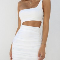 Buy Our Ava Dress in White Online Today! - Tiger Mist
