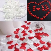 100pcs/bag Wedding Decoration Throwing Heart Petals Wedding Table Decoration Valentines Day Decoration Party Supply Fashion [7983632327]